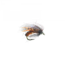 Hot Wire Caddis Pupa Amber