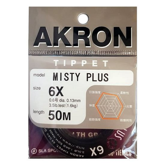 Tippet Akron Misty Plus -...