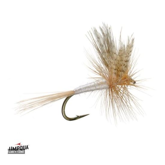 1/2 Saddle Dry fly - Bronze...