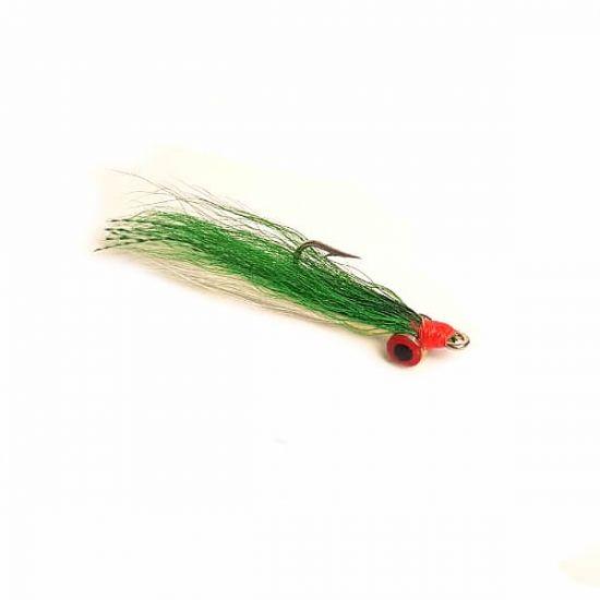 Clouser Minnow Green/White - 4